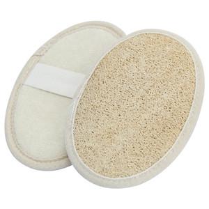 Naturel luffa Pad luffa Scrubber Enlever la peau morte luffa Pad éponge pour la maison ou Hotal gratuite DHL
