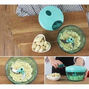 Manuale Mini Chopper Tritacarne affettatrice Pull String processore per le verdure insalata di frutta Cipolle LKS99 Utensili da cucina cucina, sala bar