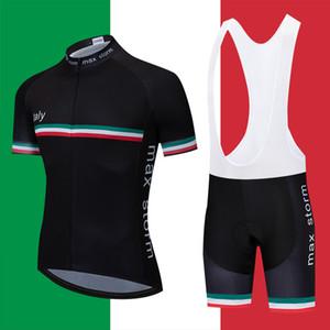 2020 New Team Italia ciclismo maglia personalizzata di strada di montagna da corsa Top max tempesta set Maglia mtb ciclismo