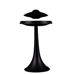 Manyetik levitated UFO tarzı yedi renkli ışık akıllı Bluetooth hoparlör bas su geçirmez süper uzun bekleme kablosuz şarj ses Denoise
