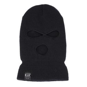 Yetişkin için Örgü Şapka Tam Yüz Kapak Kayak Maske Kış Balaclava Yüz Maskesi Bandana Yürüyüş Kaykay Balaklava Malzemeleri