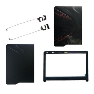 Laptop Çanta Kılıfları Asus 80 80G 80GD 504 504G 504GD FX504GE LCD üst Arka Kapak / LCD ön çerçevesi / Menteşeler İçin Yeni dizüstü kapağı