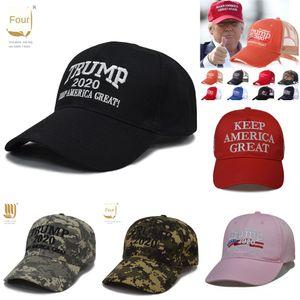 x1LCe Baseball Sale Embroidery Trump 2020 Make America Hat Again Donald Trump Best Caps Hats Baseball Caps Adults Sports Great Black & Red