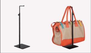 freies Verschiffen 10pcs / pack 7 Art Metallspiegelschwarzoberflächenhandtaschenausstellungsstand-Haltergestelle zcy heißer Verkauf