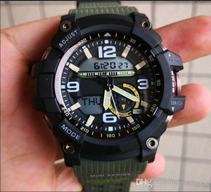 HOT 모든 방수 기능 방수 wristwa 야외 군사 남성 스포츠 시계 새로운 relogio 남자 나침반 온도