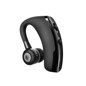 Tek taraflı hands-free iş Bluetooth kulak monteli kablosuz stereo ses aktive kulaklıklar