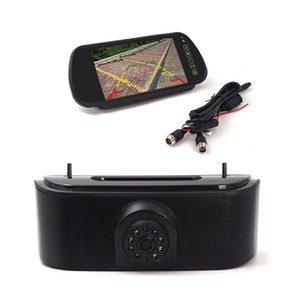 Car Brake Light câmera de backup Para 2010-2017 Nissan NV200 Rear View Invertendo câmera com 7inch retrovisor monitor de espelho opcional