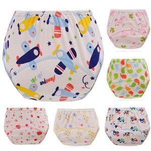 Formação Crianças Pants bebê recém-nascido Kids Clothing Infrant do bebê Embrulhe Forma Diaper infantil reutilizáveis algodão Fraldas Ajustável Underwear lavável