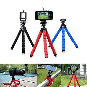 Flexible Krake-Stativ-Telefon-Halter Selfie Stock-Universalstandplatz-Halter für Mobiltelefon-Kamera Selfie Einbeinstativ