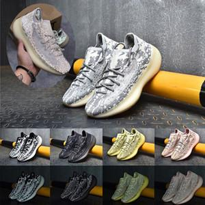V3 Gree Homens Kanye West Sneakers Womens West Sports Shoes Mulheres Running Chaussures Derramenta Home Cestas Femmes Trainers 36-46