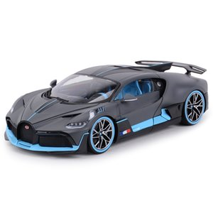 Bburago 01:18 Bugatti Divo Sports Car Statico simulazione pressofuso in lega Model Car T200110