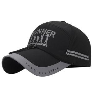 Визуализаторы летний унисекс хип-хоп мужская бейсбольная крышка отражающая быстрая сухая шляпа для мужчин Воспоминание 360 спортивных солнечных лучей