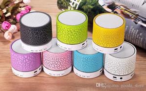 Mini altavoces bluetooth a9 led altavoz inalámbrico de color radio FM tarjeta TF USB para iPhone móvil