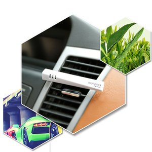 Auto enchufe del coche Interior del coche ambientador de aire de recarga automática saborizante en Perfume Clip purificador de aire olor de la fragancia Difusor # PY10