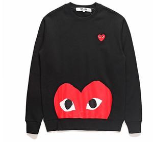 Männer los Scratch Print Langarm-Herz Sweatshirts Teenager Student Hiphop-Sport-Klage Hoodies Hemd grundiert Paare