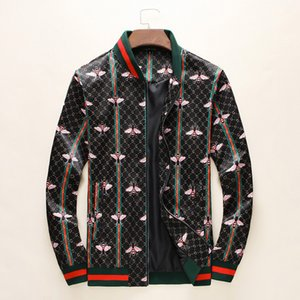 19 yıl ücretsiz kargo sonbahar erkek rahat spor ceket hoodie moda marka fermuar İnce İtalyan yeni moda lüks erkek ceket -A