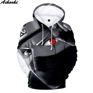 Hot Naruto Hoodies Men Women pullovers Naruto 3D Hoodie Harajuku Anime Sweatshirts Naruto 3D Hoodies Oversized Men's Sweatshirt Y200519
