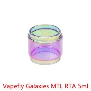 Atacado Vapefly Galaxies MTL RTA 5ml bolha de expansão do arco-íris Vidro DHL grátis Comprar Vapefly Galaxies MTL RTA 5ml Fatboy Bulb tubo de vidro