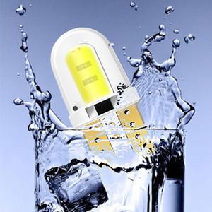 10 Ad Araba T10 Led W5W 194 LED 168 COB Silika Beyaz Lisans Ampuller Oto Yan Lambalar Kama İç Kubbe Lambası soğanları çevirin