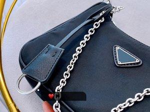 2019 nuove borse sacchetti di spalla di alta qualità Crossbody bag a forma di cuore decorazione incatramata Borsa di nylon all'ingrosso Shopping Bag
