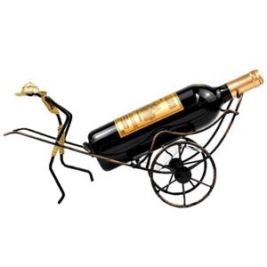 Велосипед Металлический Винный Стеллаж Велосипед Столешница Держатели Для Хранения Декоративные Настольные Держатели Для Бутылок Кованые