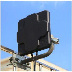 2 * 22dBi açık 4G LTE MIMO anten, LTE çift polarizasyon paneli anten SAM-Erkek konnektör