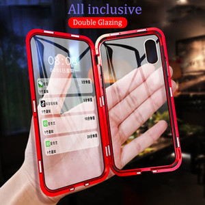 Luxo caixa do telefone Gradiente colorido Aurora para iphone x xr xs max 7 8 Plus casos Covers Ultra Fina E Macia TPU de vidro temperado
