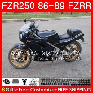 Corpo Para YAMAHA FZRR 250 FZR 250R FZR 250 1986 1987 1988 1989 123HM.54 FZR250RR FZR250R FZR250R FZR250 86 87 88 89 Carenagem