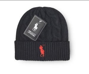 Moda uomo polo invernale berretto da uomo designer berretti cappello casual in lana lavorato a maglia berretto sportivo sci gorro berretto berretti teschio di alta qualità
