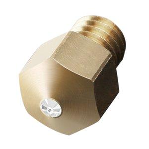 MK8 Yazıcı Nozul Pirinç İpucu 0.4mm Extruder Başkanları 3D Yazıcı Extruder Parçaları Baskı Kafa İçin Creality Ender-3