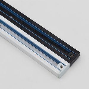 Fanlive 5 pz / lotto 1 m Focos LED Techo Rail Light Rail 3 Wire Track Apparecchio di illuminazione Rai Universal Rails Track Rail Rail