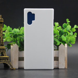 Samsung Note10 Note10 Pro Not 9 8 telefon kılıfı mat Sert Kapak için Perakende 3D Sublime telefon kılıfı