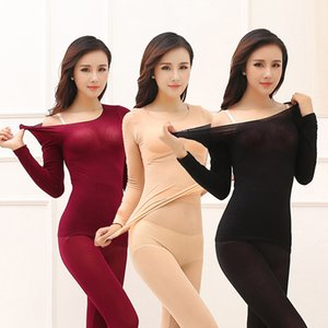 Thermal Underwear For Women Sexy Warm Long Johns For Women Seamless Winter Thermal Underwear Set Warm Thermos Clothing Women Men