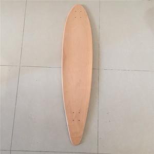 """Wholesale OEM Blank Skateboard Deck Maple 42.875"""" Longboard Flat-Plate Deck DIY Patterns Decks"""