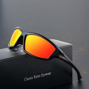 2020 Unisex% 100 UV400 Polarize Sürüş Güneş Gözlükleri Polarize Şık Güneş gözlüğü Erkek eyewears
