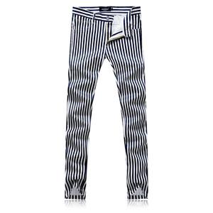 Autumn Black Suit Trousers mens Fashion Casual Flower Pants men Size 29-38 men