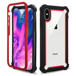 Para iphone 11promax caso caso de telefone celular de proteção transparente três quatro - caso desquebrar telefone espaço encurralado para samsung e Xiaomi
