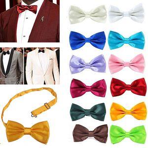 Bowtie Men Kids Formal Necktie Boy Men's Fashion Business Wedding Bow Tie Male Dress Shirt Krawatte Cravats Mens Gifts