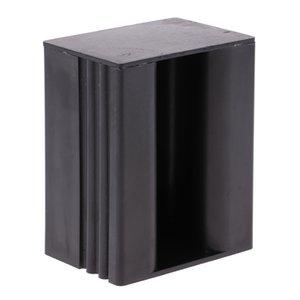 المحمولة الشكل المربع SUP التعامل مع حامل مقبض يصل المجذاف مجلس (الأسود)