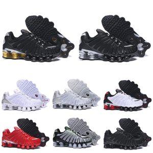 Nike Shox TL 1308 Koşu Ayakkabıları OZ NZ R4 Kil Turuncu Üçlü Siyah Mavi Metalik Gümüş Sunrise Üniversitesi Kırmızı Beyaz eğitmenleri spor spor ayakkabıları mens