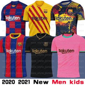 10 Messi 2021 nouveau Barcelona Soccer Jersey Griezmann Semedo PIQUÉ Busquets Suarez Camiseta de Fútbol Umtiti Firpo Dembélé