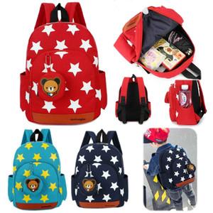 Garçons Filles Étoile Cartoon sac à dos école maternelle Rucksack enfants Enfants Bookbag Satchel Sacs à dos d'épaule