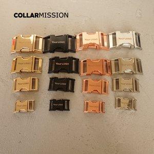 10pcs / lot fivelas de metal par de 15, 20, 25, 30 mm DIY costura acessório fivela, nós fornecemos LOGO gravação a laser serviço personaliza
