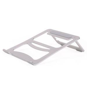 Aluminium Metall Falten 17 Zoll Laptop Tischständer tragbare einstellbare Computer Tablet Halter für iPad Pro / Mini