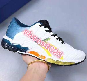 ASICS GEL-KAYANO 5 360 Nouvelle Mode encadrée GEL-Quantum 360 5 jeunes hommes de nouvelle course amorti chaussures blanc noir rouge Piémont gris étudiant sneakers tigre