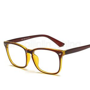Retro-Platz optische Gläser Klassische Full Frame Männer Frauen Computer-Klar-Schutzbrillen Brillen Unisex Lesen Brillen LJJT-1030