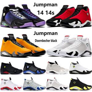14 nuevos zapatos de baloncesto de Jumpman 14s Doernbecher negro color multi gimnasio turbo rojo indiglo blanca Chartreuse de arena del desierto para hombre de las zapatillas de deporte formadores