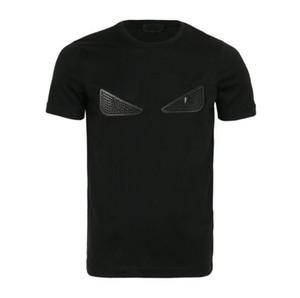 2020 Brand Design T-shirts T-shirt décontracté hommes T-shirts Mode Novelty Mignon Yeux de broderie de luxe T-shirts Hommes Femmes Streetwear T-shirts