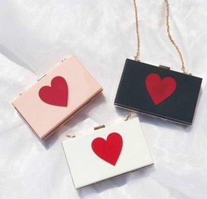 Designer Mulheres Flap Hangbag Luxo Lady Bolsa de Ombro Cadeia Moda corações brilhantes Bolsas Simples sacos de alta qualidade 7
