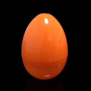 Children DIY Painting Assemble Egg Plastic Easter Egg DIY Handmade Egg Empty Box Gift Toy for Kids Decoration